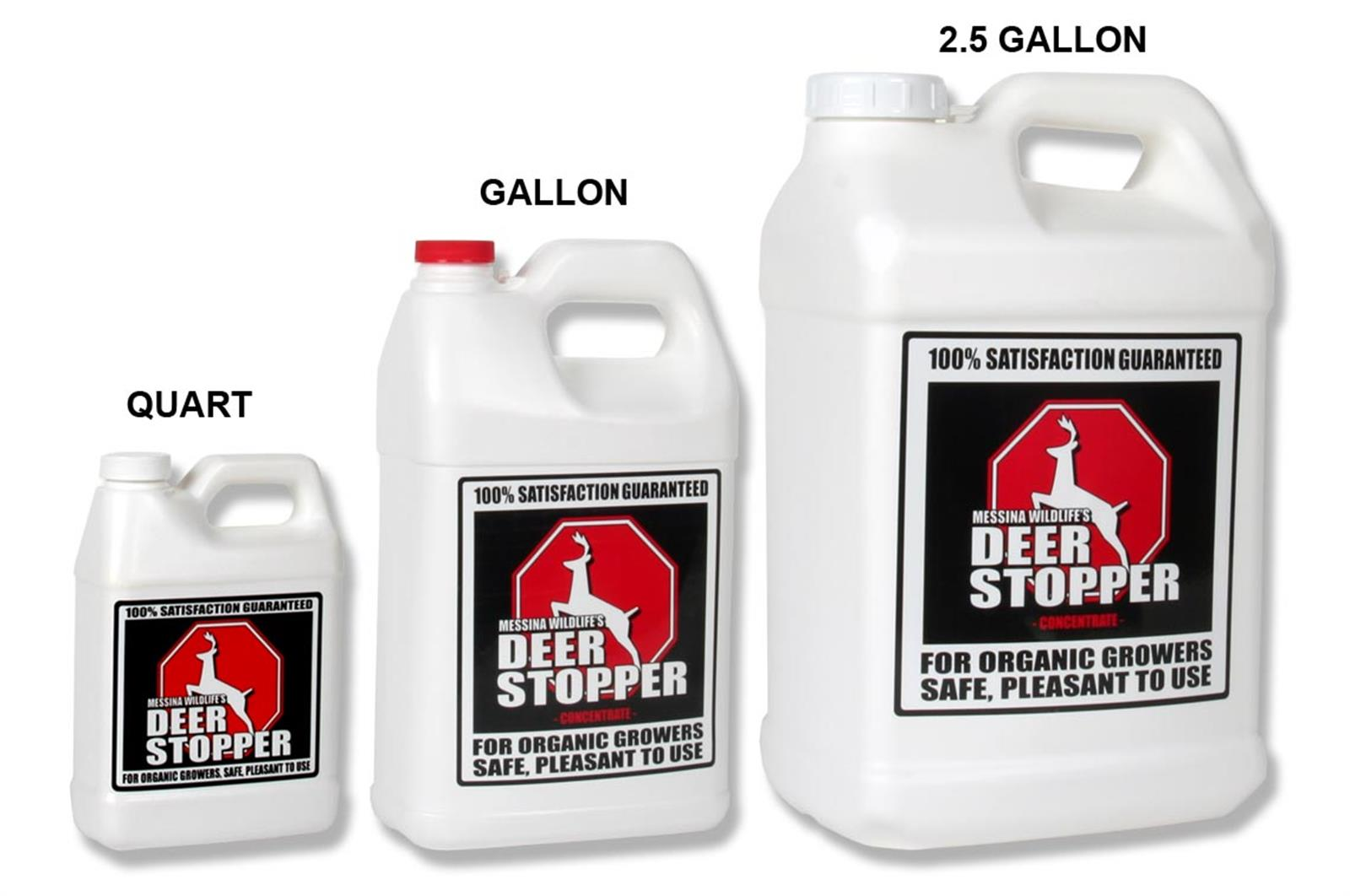 Deer Stopper Organic Deer Repellent Nixalite