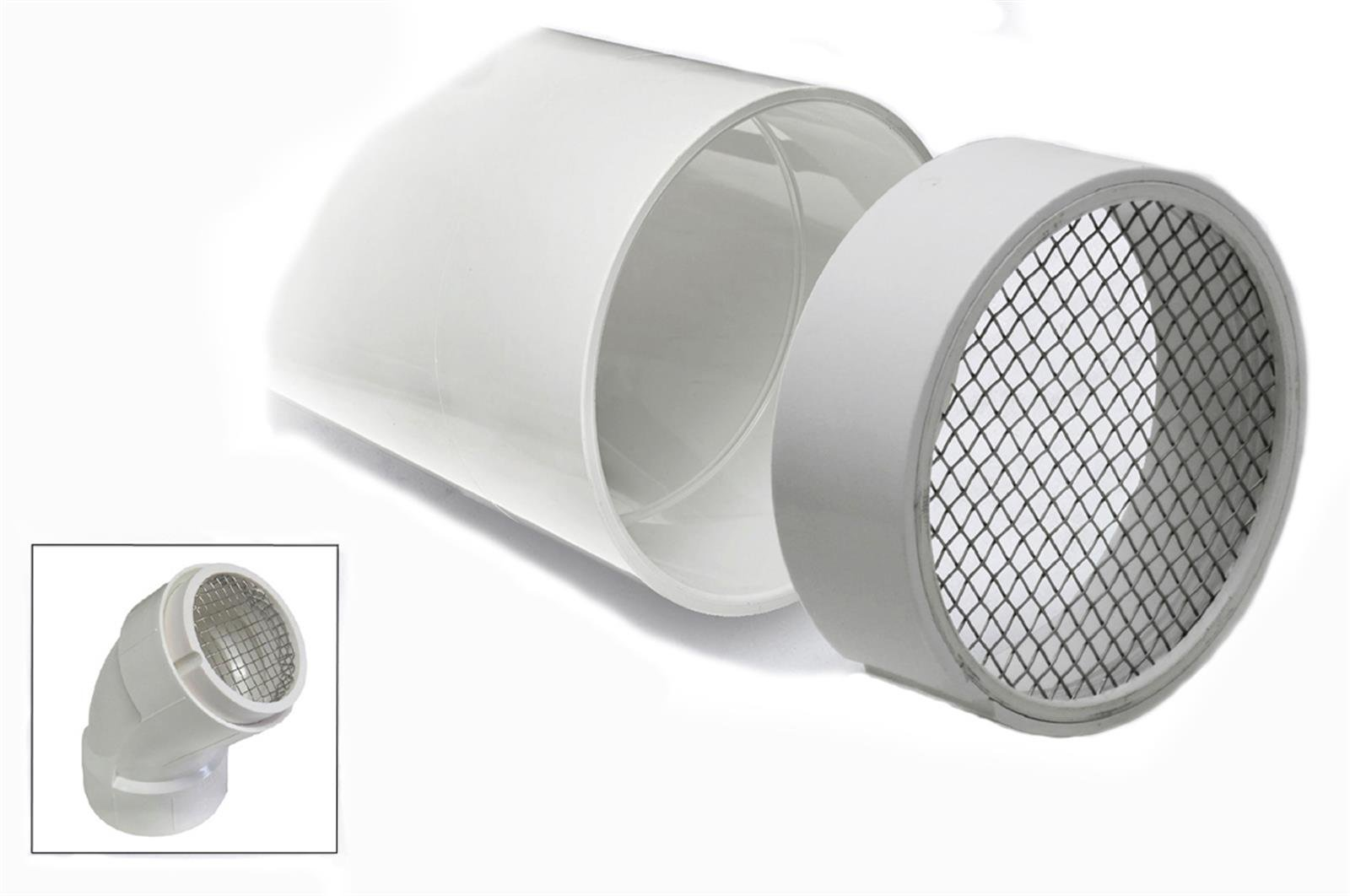 Pvc Termination Vent Screen Nixalite Pipes For Electrical Wiring Metal And Pe Compare Evaluate