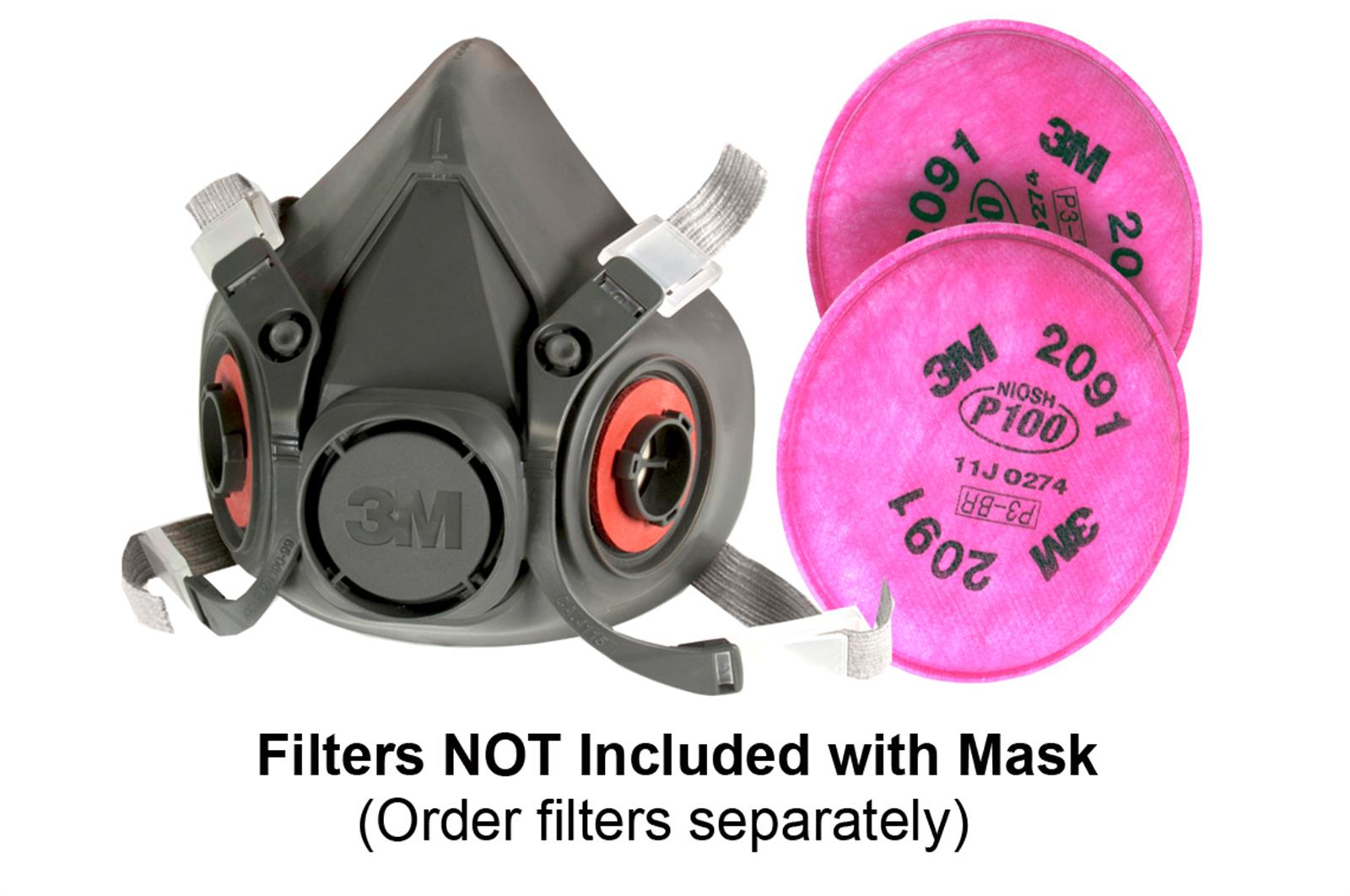 3m respirator mask filters