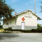 Vero Beach FL Historic Train Station