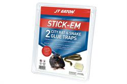 Stick-Em City Rat & Snake Glue Traps