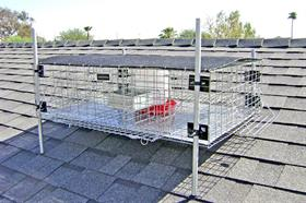 Rooftop Pigeon Trap 36x24x10