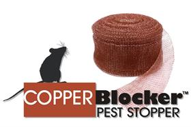 Copper Blocker Pest Stopper - 100' Roll