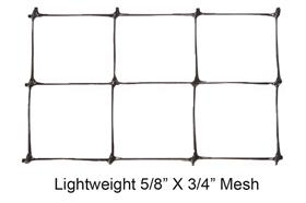 BOUNDARY Lightweight Deer Fence & Fence Kit