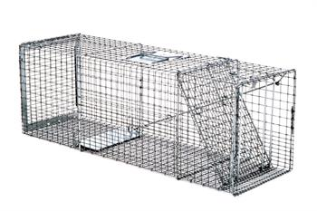 Professional Live Capture Animal Trap 36x11x12