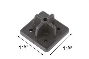 Plastic Base for Nail Point Posts