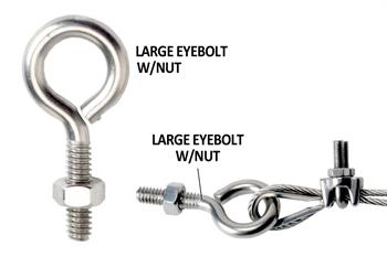Large Eyebolt w/nut