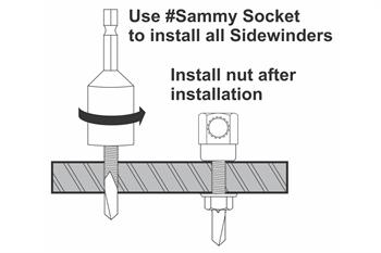 steel sidewinder install diagram