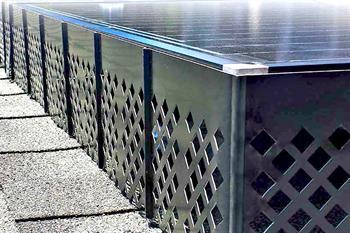 Solatrim Pest Barrier For Solar Panels Nixalite