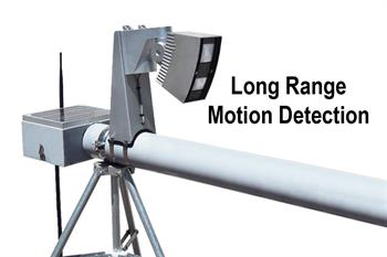 long range motion detect installed