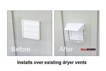 Defender Dryer Vent Guards Nixalite