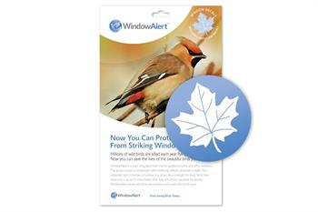 Window Alert UV Decal