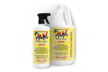 poop-off bird poop remover gal and qt