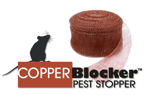 Copper Blocker Copper Mesh Logo