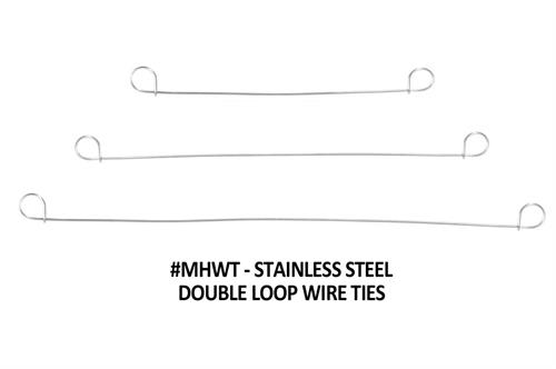 Wire tie mounting hardware
