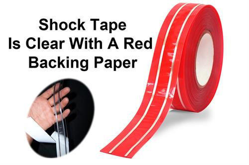Electric Shock Tape backing