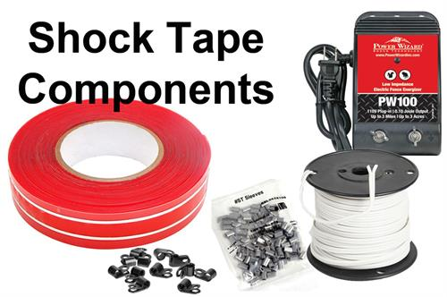 Electric Shock Tape Parts
