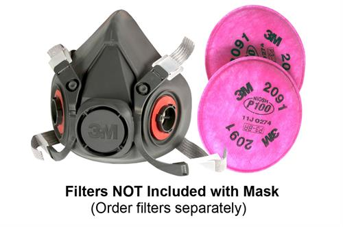3m respirator mask and filters
