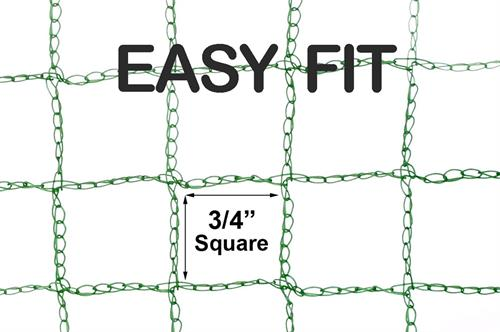 Bare Hand Easy Fit Garden Netting
