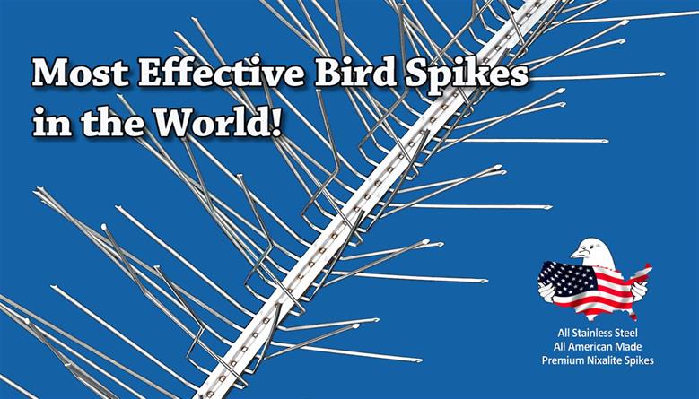 Effective Pest Bird & Wildlife Control Products | Nixalite