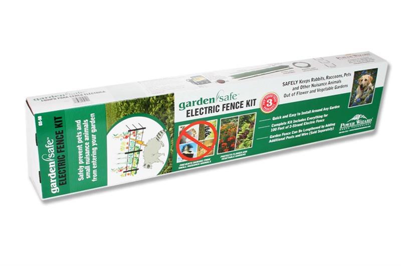 Garden Safe Electric Fence Kit Nixalite