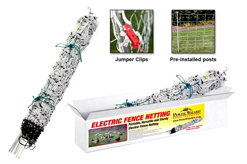 Electric Fence Netting Kit Nixalite