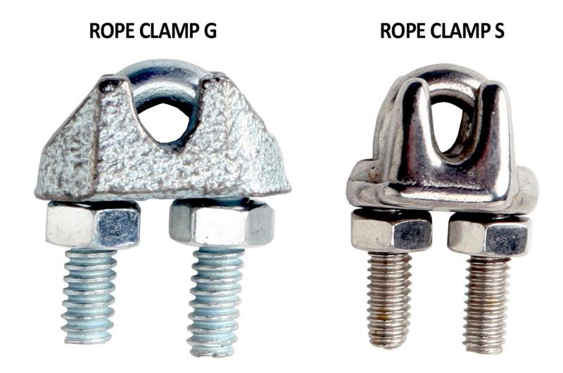 Wire Rope Clamps | Nixalite
