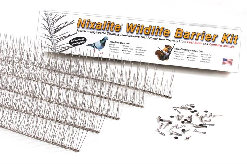 Nixalite Wildlife Barrier Kit Nixalite