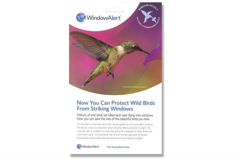 Window Alert UV Decal Nixalite - Window alert decals for birds